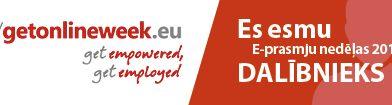 E-prasmju nedēļā pieejamas tematiskas tiešraides