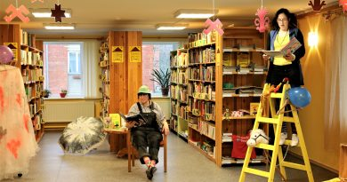 Ziemeļvalstu literatūras lasījumi Laidzes bibliotēkā
