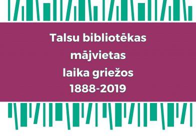 Talsu bibliotēka 1888 – 2019