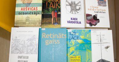 """Bibliotēkā pieejamas projekta """"Vērtīgo grāmatu iepirkums Latvijas publiskajām bibliotēkām"""" grāmatas"""