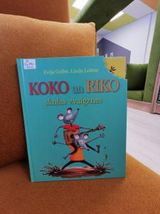 Koko un Riko skolas zvaigznes (Evija Gulbe, Linda Lošina)