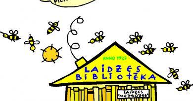 Būt attālināti aktīviem Bibliotēku nedēļā