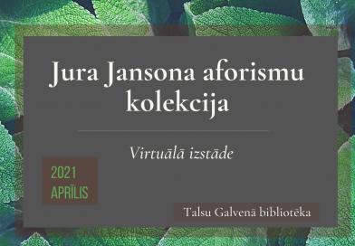 Jura Jansona aforismu kolekcija