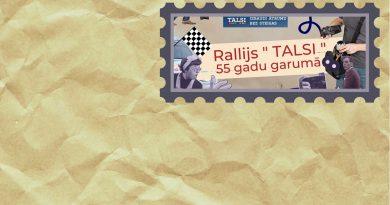 """Rallijs """"Talsi"""" 55 gadu garumā"""